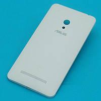 Задняя крышка для Asus ZenFone 5 (A500CG/A500KL/A501CG), белая