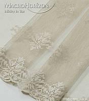 Комплект готового Тюля Гипюр Лилия св.беж, арт. MG-144866, фото 1