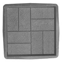 Форма для плитки тротуарной Паркет 40 х 40 х 5 см