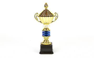 Кубок спортивный с ручками и крышкой IMPULSE C-141B, фото 2