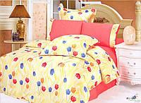 Комплект постельного белья Le Vele MELISA, сатин-жатый шелк, двуспальный евро 200х220см