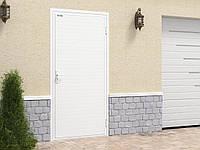 """Двери модели """"Ультра"""" стандартных размеров с обшивкой алюминиевым профилем"""