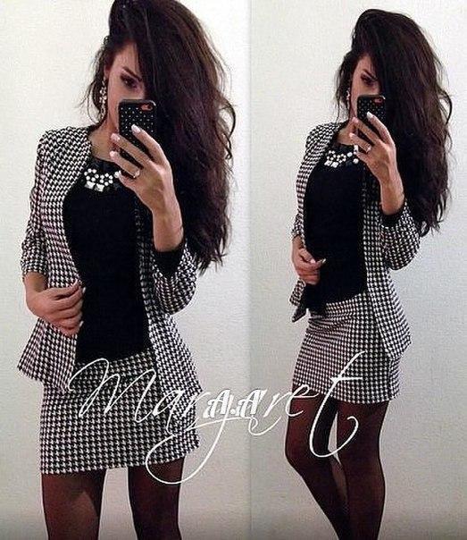 Женские костюмы - стильные модели