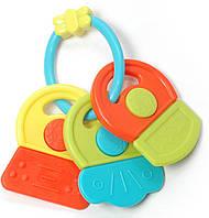 Игрушка-погремушка Baby Team Ключики Разноцветная (8442)