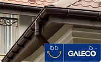 Galeco PVC Галеко ПВХ пластиковая водосточная система