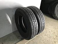 Шины бу зима 215/75R16C Michelin Agilis 81 Snow-ice пара 8мм