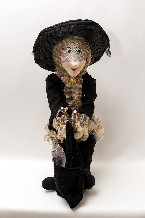 Кукла Шапокляк большая 50-60 см.