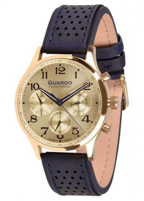 Часы Guardo S01605 GGBl кварц.