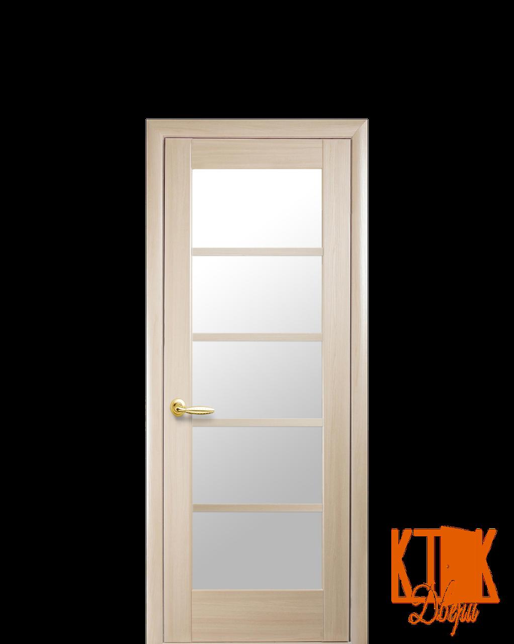 Межкомнатные двери Новый Стиль Муза (ясень)