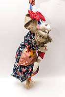 Текстильная кукла  Vikamade Баба-Яга летящая малая