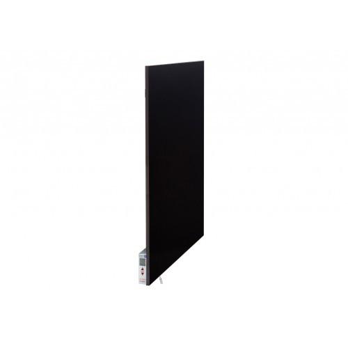 Керамический обогреватель с терморегулятором (моно цвета) - черный 500 Вт.10 м.кв. Теплокерамик TCM-RA 500