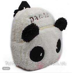 Рюкзак детский плюшевый Панда
