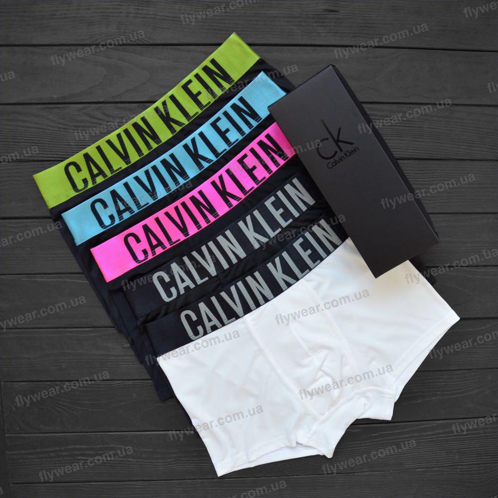 c82d3eccea98d Подарочный набор мужских трусов, боксеры Calvin Klein Intense (5 шт.) - F L  Y W E A R