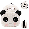 Рюкзак детский плюшевый Панда, фото 2