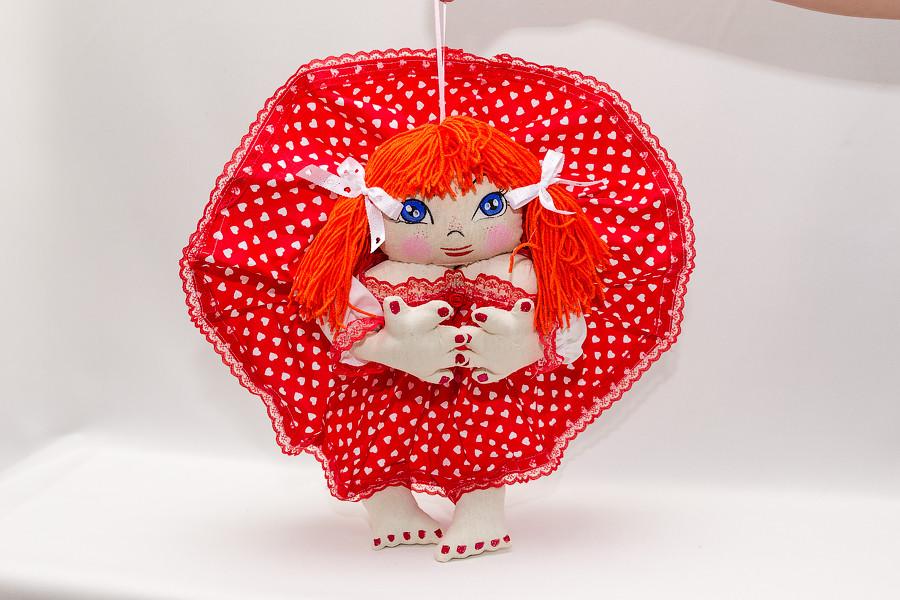 Кукла попка  Vikamade интерьерная большая.
