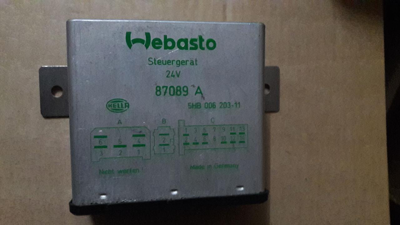 Блок управления WEBASTO 24v