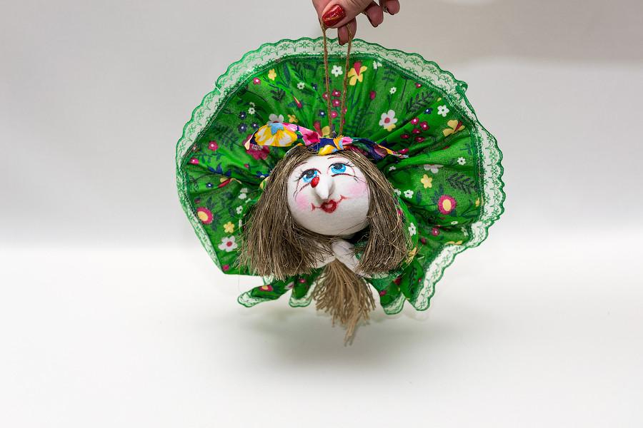 Кукла попка Баба-Яга малая