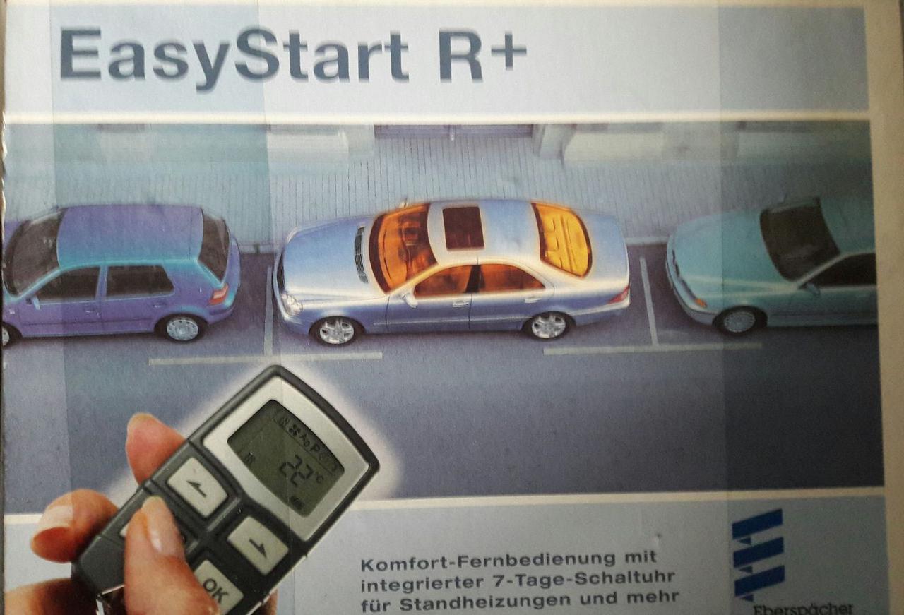 Дистанционный элемент управления EasyStart R+ 12/24V