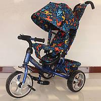 Велосипед трехколесный TILLY Trike T-344-3 СИНИЙ