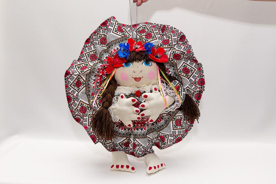 Кукла попка Украина большая