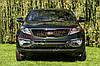 Накладки на передний бампер (листвы) для Kia Sportage 3 2010-2015
