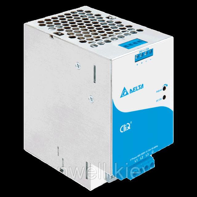 DRP024V240W3BN Блок питания на Din-рейку Delta Electronics 24В, 10A 3ф x 320-600Vac