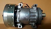 Компрессор  SD7H15 8PV 12v кольцо выходы  горизонтальные