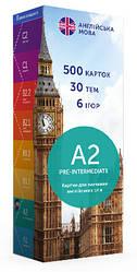 Картки для вивчення англійської мови English Student, рівень A2 Pre-Intermediate