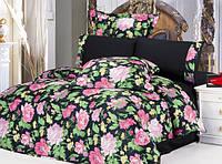 Комплект постельного белья Le Vele cindy , сатин-жатый шелк, двуспальный евро 200х220см