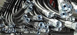 Н.036.84.02.110 РВД 1,60 м S27 2SN /Premium/Рукав высокого давления, под ключ 27, двухслойный