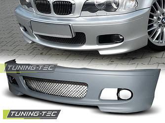 Бампер передний тюнинг обвес BMW E46 Coupe стиль M Sport Paket