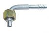 Фитинг алюминиевый №6 (8мм) угловой 90° с накидной гайкой. O‐ring (кольцо)