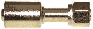 Фитинг сталь №10 (13мм) прямой 0° с накидной гайкой. O‐ring (кольцо)
