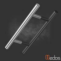 Ручка офисная прямая 500 мм (нержавеющая сталь)