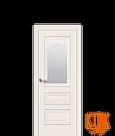 Межкомнатные двери Новый Стиль Статус рисунок Р2 (магнолия)