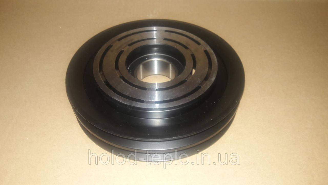 Шкив компрессора кондиционера  Sanden SD5H14 132mm/2A