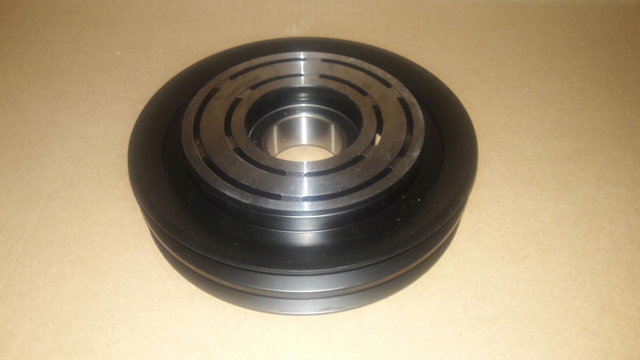 Шкив компрессора кондиционера  Sanden SD7H15 132mm/2A
