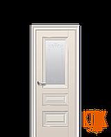Межкомнатные двери Новый Стиль Статус рисунок Р2 (капучино)
