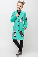 """Весеннее пальто для девочки """"New York"""""""