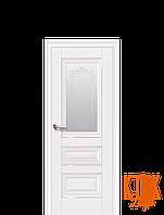 Межкомнатные двери Новый Стиль Статус рисунок Р2 (белый матовый)