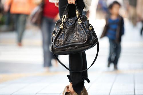 Модные сумки 2018: сумка из кожи рептилии