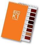 Каталог/палитра цветов RAL K1, каталог RAL в Украине, палитра RAL купить
