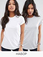 Набор из 2 футболок Love&Live