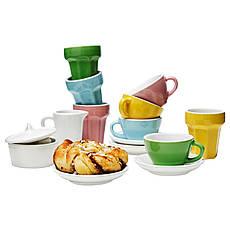 ДУКТИГ Игрушечной чайный сервиз, 10 предметов, разноцветный 90130163 IKEA, ИКЕА, DUKTIG, фото 3