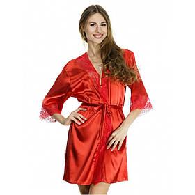 Халаты шёлковые оптом, ТМ Serenade, разные цвета