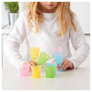 ДУКТИГ Игрушечный набор стаканов, разноцветный 00190689 IKEA, ИКЕА, DUKTIG, фото 2