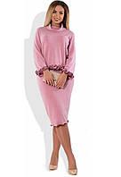 Костюм из ангоры из блузы и юбки размеры от XL 4143