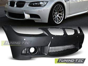 Передний бампер тюнинг обвес BMW E92 E93 стиль M3 с PDC