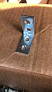 Уголок мебельный 30х30х15 мм. оцинкованный, фото 3
