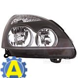Фара левая и правая черная на Рено Симбол (Renault Symbol) 2006-2008, фото 3